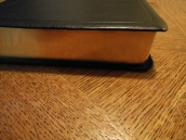 NASB Reference Bible Genuine Calfskin Black 007