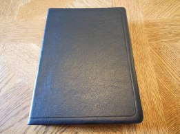 NASB Reference Bible Genuine Calfskin Black 010