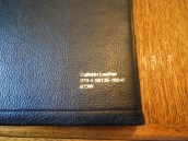 NASB Reference Bible Genuine Calfskin Black 012