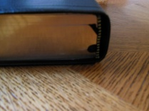 NASB Reference Bible Genuine Calfskin Black 040