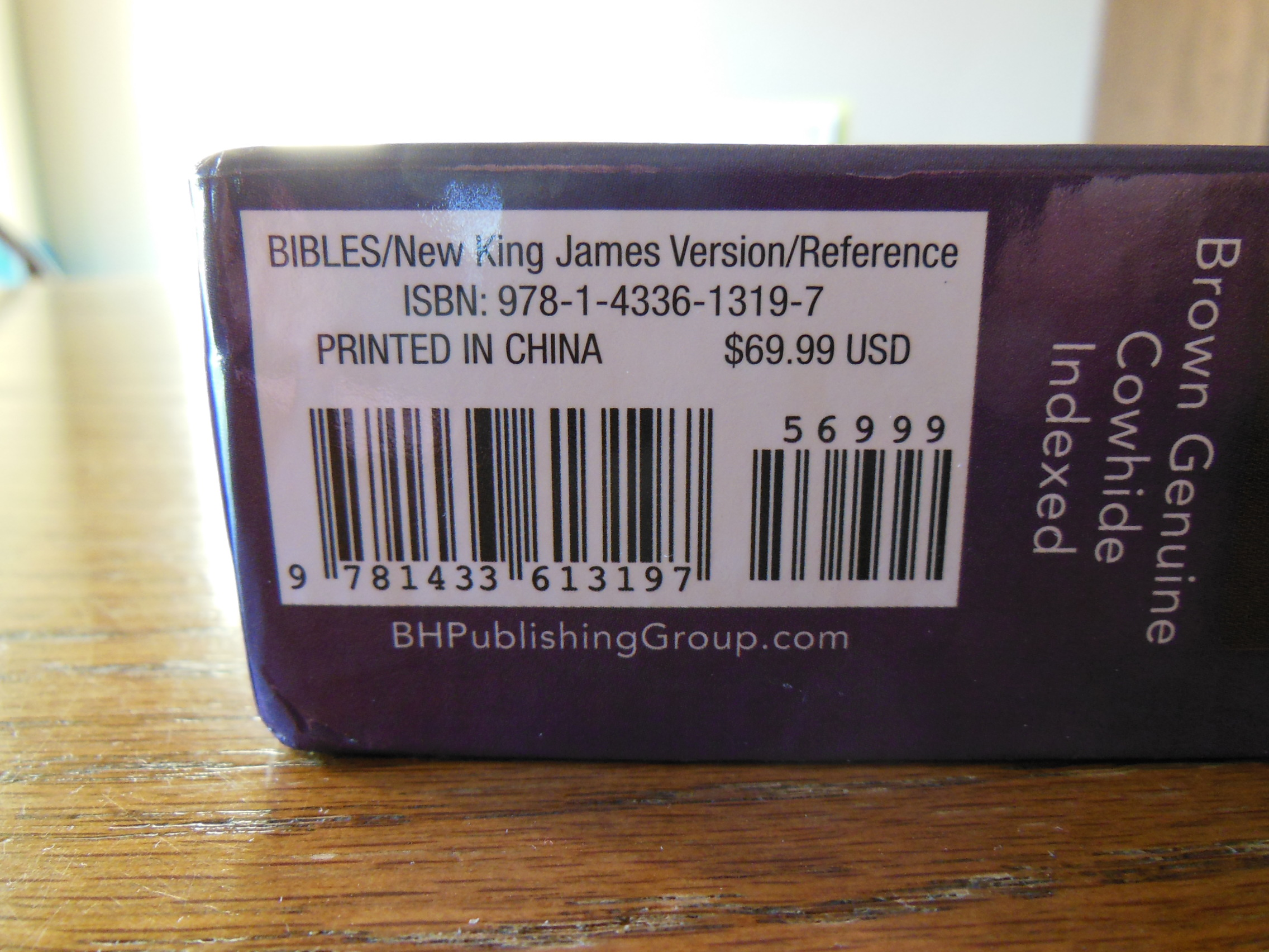 Review of the Holman, New King James Version, (NKJV) Large ...
