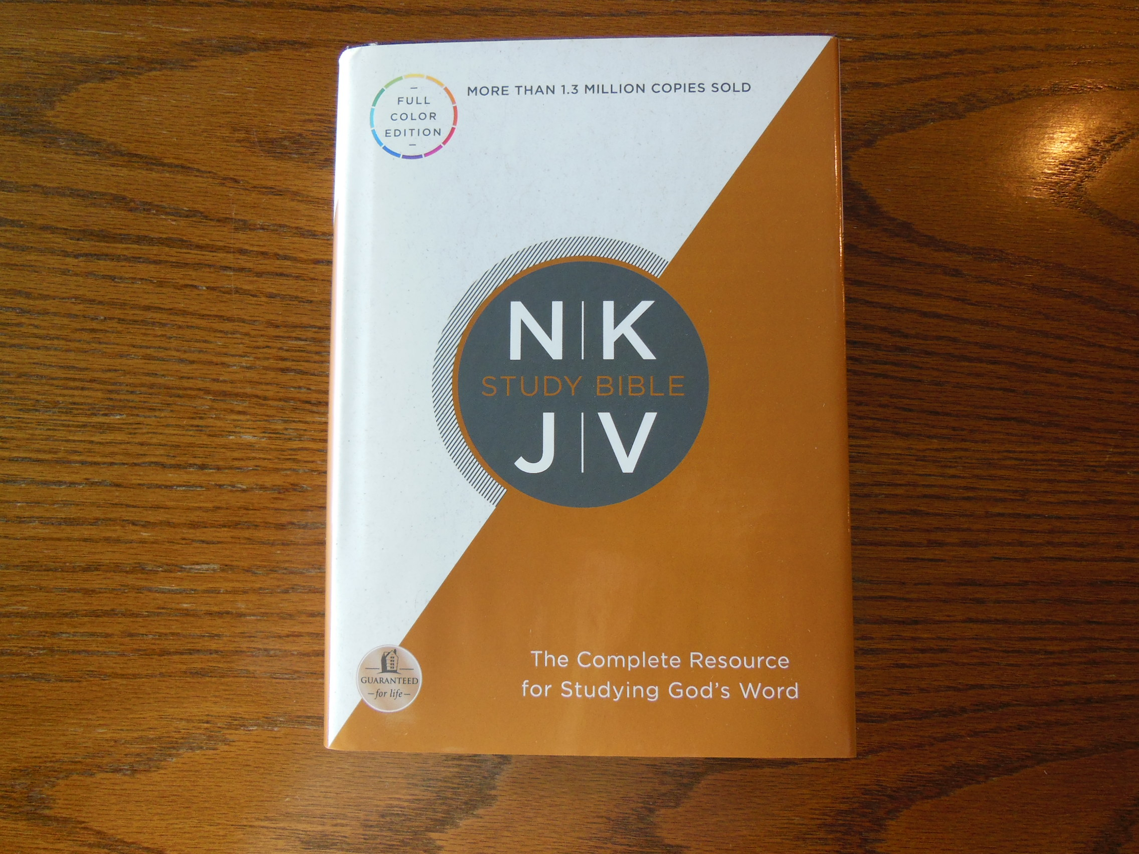Thomas Nelson NKJV Full Color Study Bible | Snyder\'s Soapbox