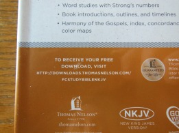 thomas nelson nkkv study bible hard cover 010