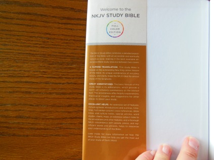 thomas nelson nkkv study bible hard cover 011
