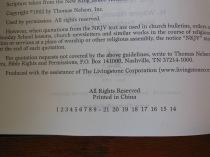 thomas nelson nkkv study bible hard cover 051