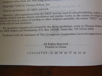 thomas nelson nkkv study bible hard cover 051