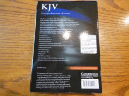 cambridge kjv, holman ministers kjv and funky lil kjv 008