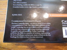 cambridge kjv, holman ministers kjv and funky lil kjv 009