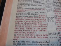 cambridge kjv, holman ministers kjv and funky lil kjv 048