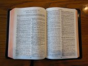cambridge kjv, holman ministers kjv and funky lil kjv 054