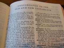cambridge kjv, holman ministers kjv and funky lil kjv 056