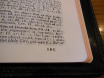 cambridge kjv, holman ministers kjv and funky lil kjv 061