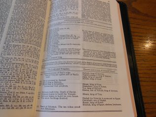 cambridge kjv, holman ministers kjv and funky lil kjv 063