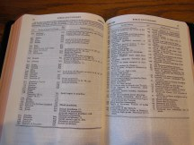 cambridge kjv, holman ministers kjv and funky lil kjv 064
