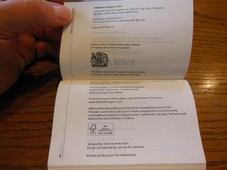 cambridge kjv, holman ministers kjv and funky lil kjv 107