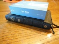 cambridge kjv, holman ministers kjv and funky lil kjv 130