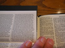 cambridge kjv, holman ministers kjv and funky lil kjv 132