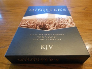 cambridge kjv, holman ministers kjv and funky lil kjv 139