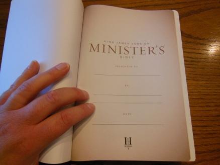 cambridge kjv, holman ministers kjv and funky lil kjv 159