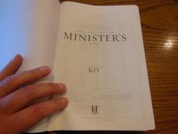 cambridge kjv, holman ministers kjv and funky lil kjv 160