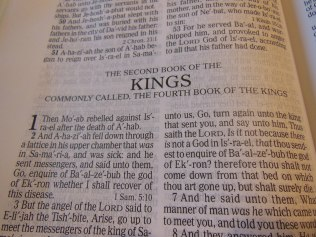 cambridge kjv, holman ministers kjv and funky lil kjv 175