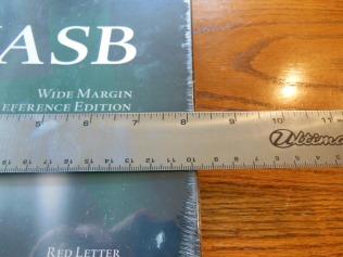 Cambridge Wide Margin NASB 006