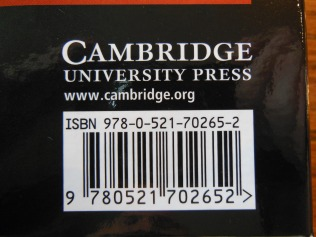Cambridge Wide Margin NASB 007