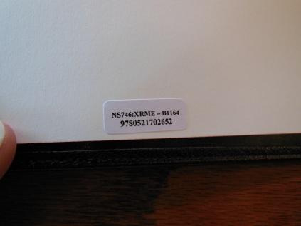 Cambridge Wide Margin NASB 075