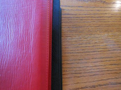Evidence KJV LCBP Red Wide Margin LCBP Black Hand Size 005