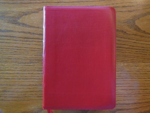 Evidence KJV LCBP Red Wide Margin LCBP Black  Hand Size 008