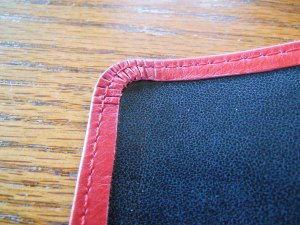 Evidence KJV LCBP Red Wide Margin LCBP Black  Hand Size 015
