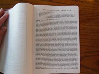 Evidence KJV LCBP Red Wide Margin LCBP Black Hand Size 028