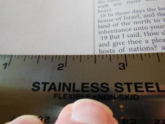 Evidence KJV LCBP Red Wide Margin LCBP Black Hand Size 036