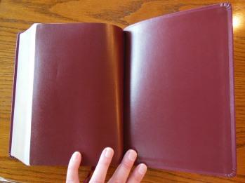 NASB Giant Print Burgundy 052