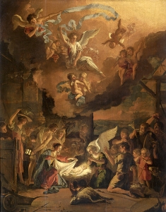 Adoration_of_the_shepherds_1663_Abraham_Hondius