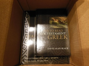 chinese new testament and greek book with workbook holman 003