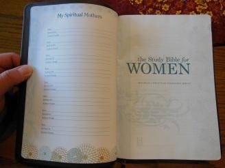 Holman woman's hcsb study bible 025