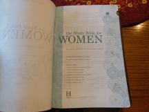 Holman woman's hcsb study bible 027