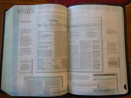 Holman woman's hcsb study bible 055