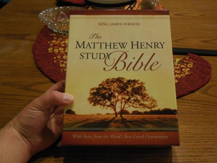Matthew Henry kjv study Bible 002