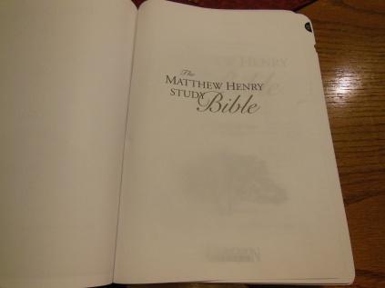 Matthew Henry kjv study Bible 020